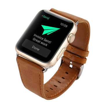 Leather Buckle Wrist Band Strap Belt Apple Watch