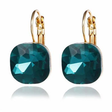 Austrian Crystal Rhinestone Stud Earrings