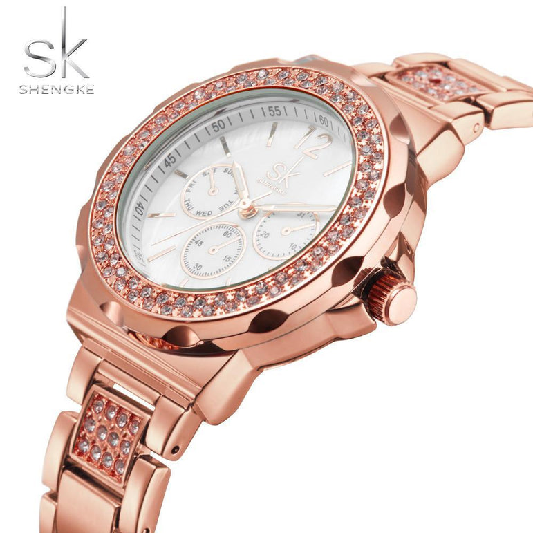 Luxury Rhinestones Bracelet Ladies Watch