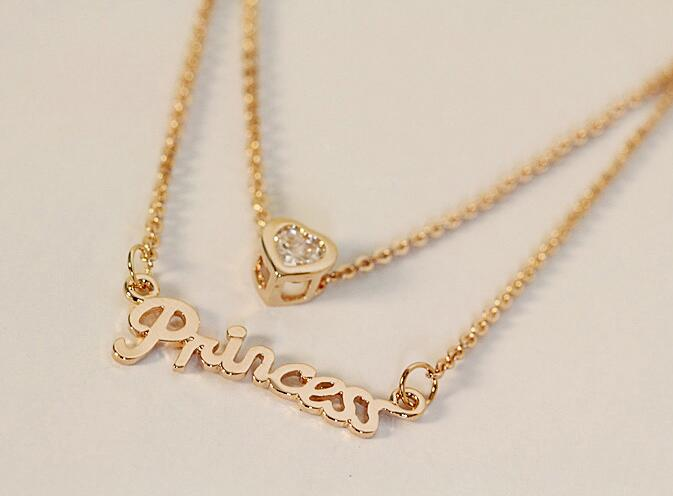 Princess Is The Word Necklace Pendant