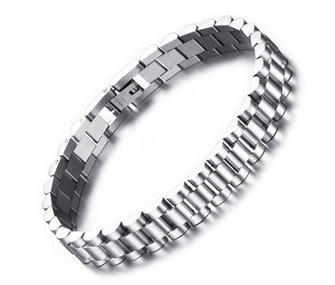 Watch Band Link Chain Bracelet