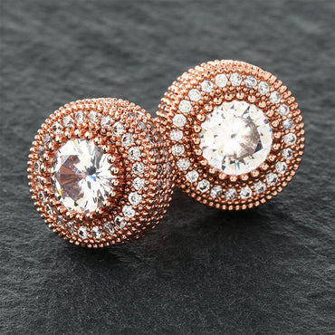 Luxury Design Iced Out Stud