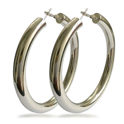 Classic Wide & Big Hoop Earrings