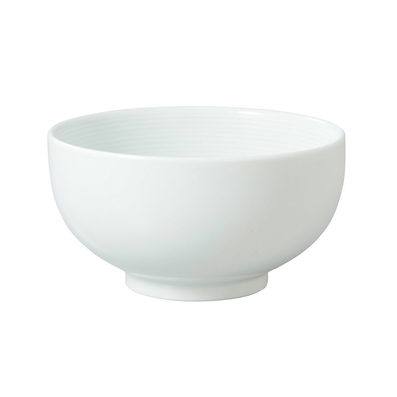 White Porcelain Donburi Bowl / S