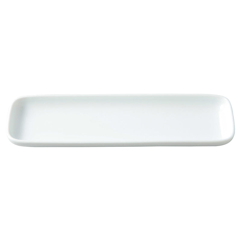 White Porcelain Long Square Dish
