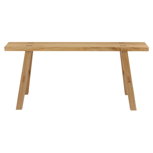 Wooden Bench / Oak / L