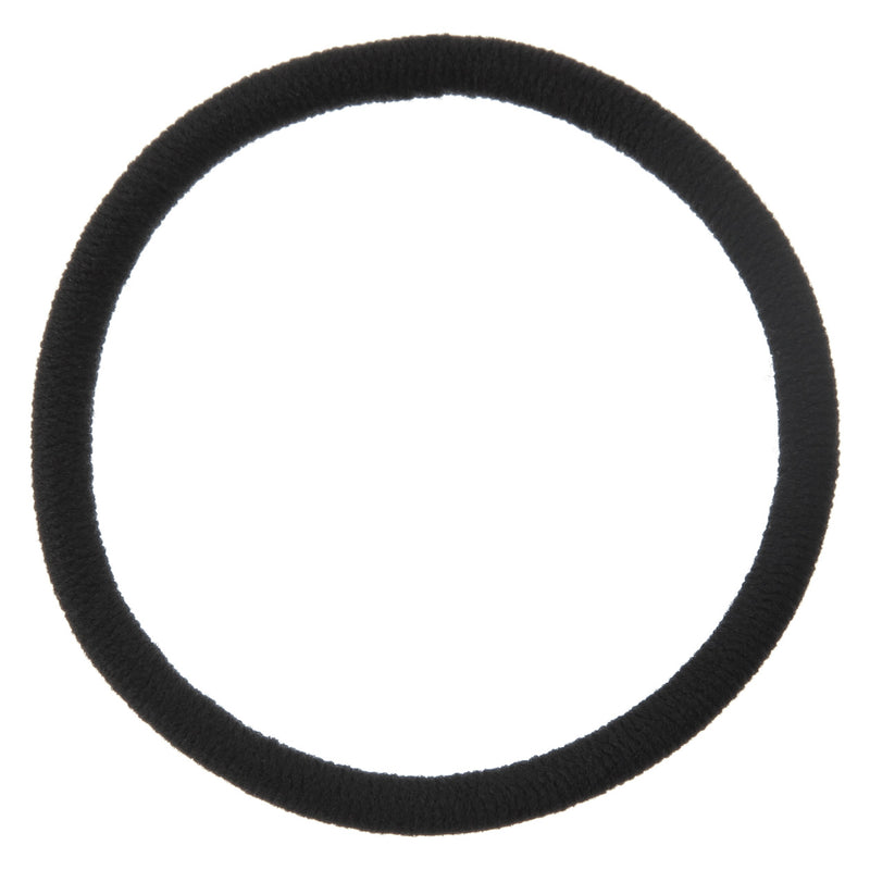 Hair Rubber Ring Thick Black