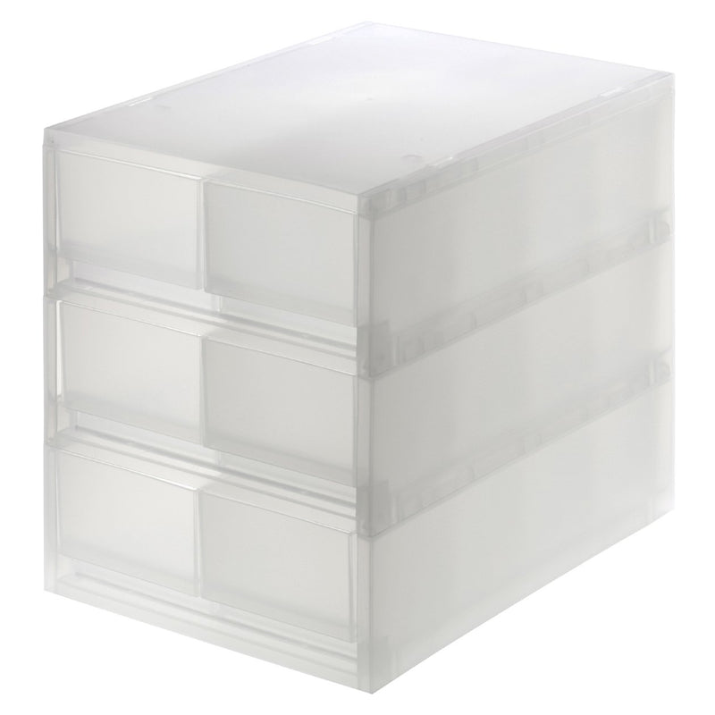 Pp Storage Case Drawer Shallow 3Row Partition
