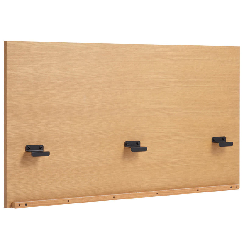 Storage Bed / Headboard / K / Oak