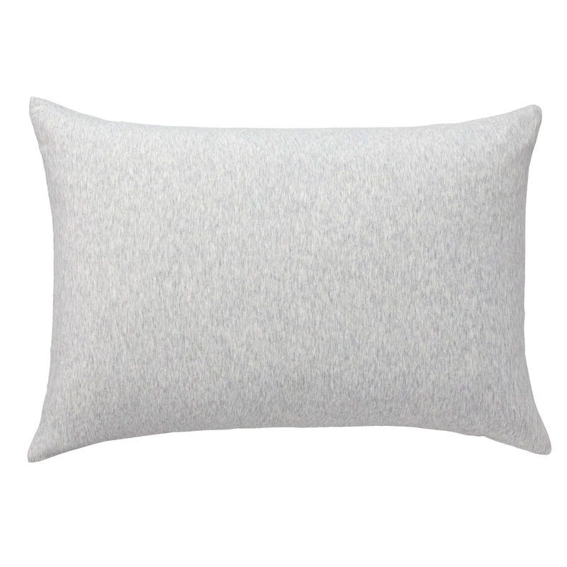 Organic Cotton Jersey Pillow Case Light Grey / 50X70