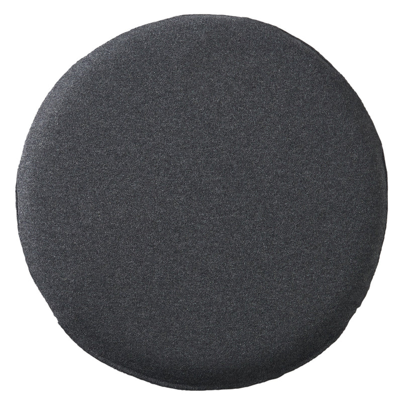 Urethane Foam Seat Cushion Round- Charcoal