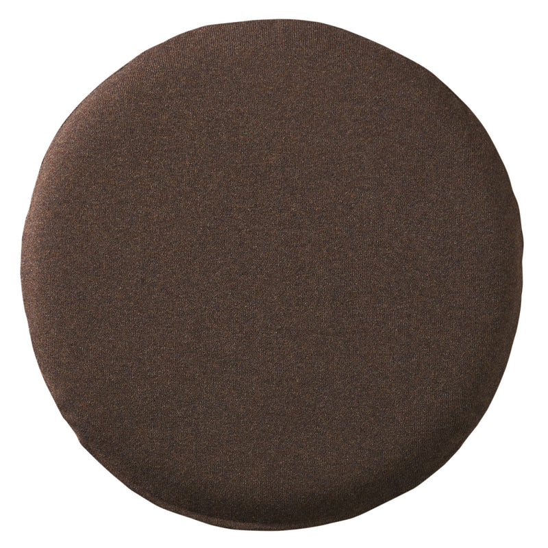 Urethane Foam Seat Cushion Round- Brown