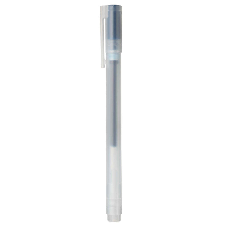 Gel Ink Ballpoint Pen Cap Type / 0.38Mm / Blue Black