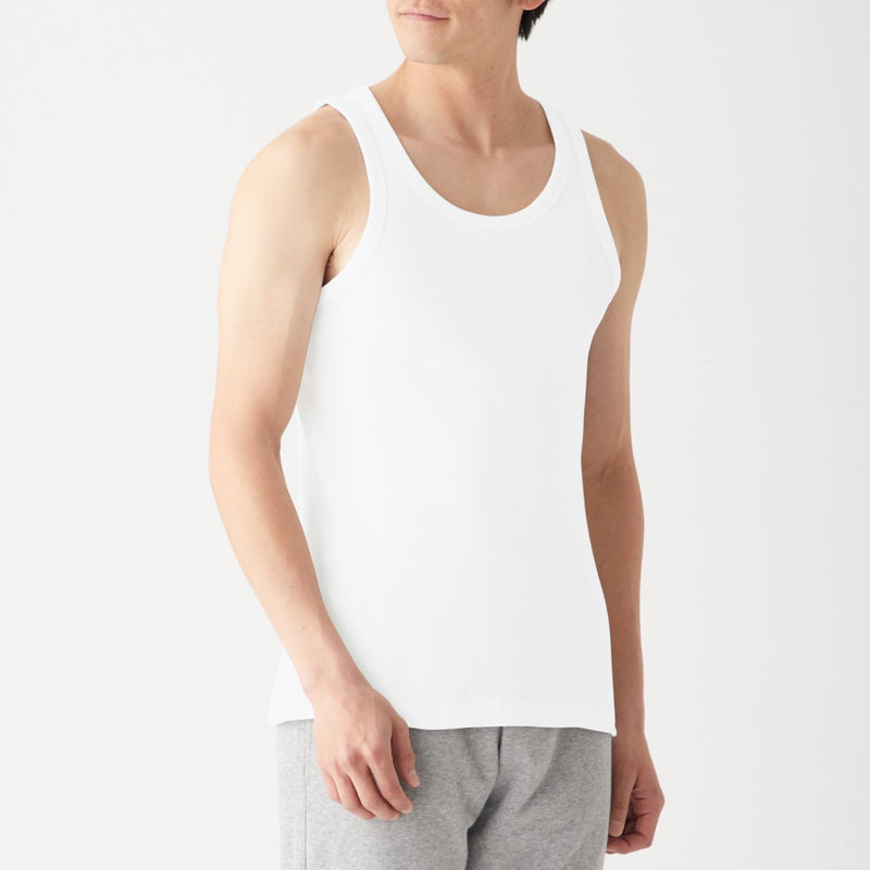 Organic Cotton Rib Tanktop 2 Pack