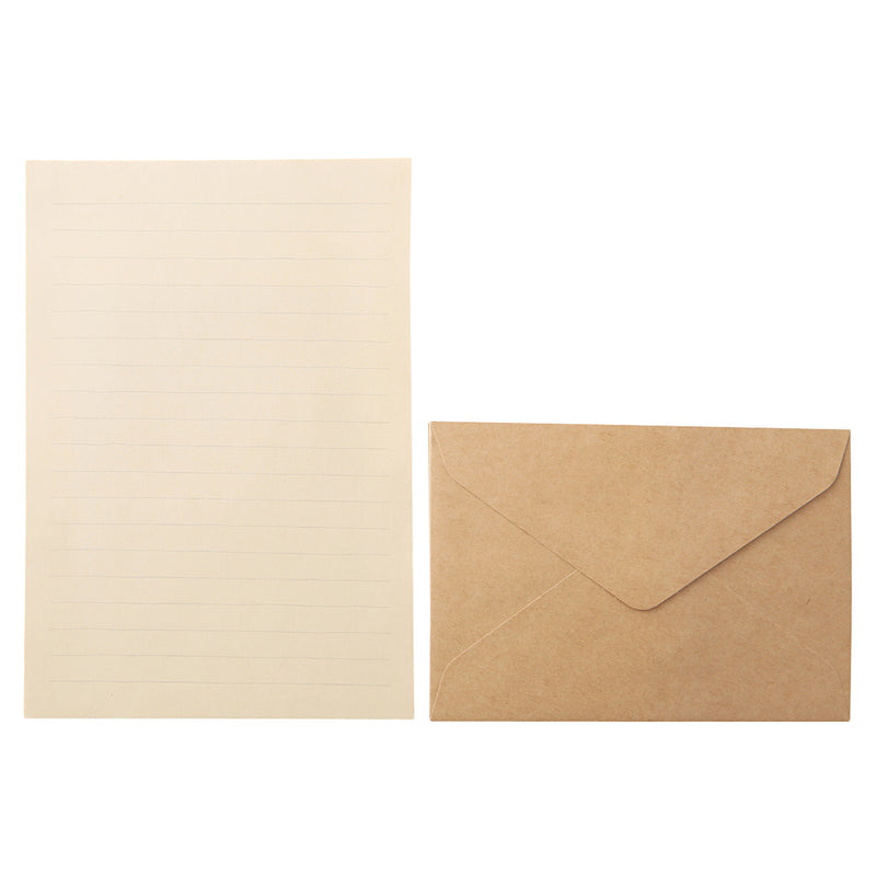 Kraft Paper / Letter Set / A5 / 26 Sheets
