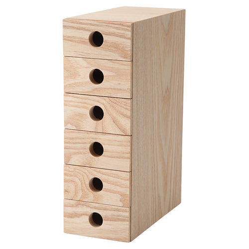 Mdf Storage / 6 Drawers