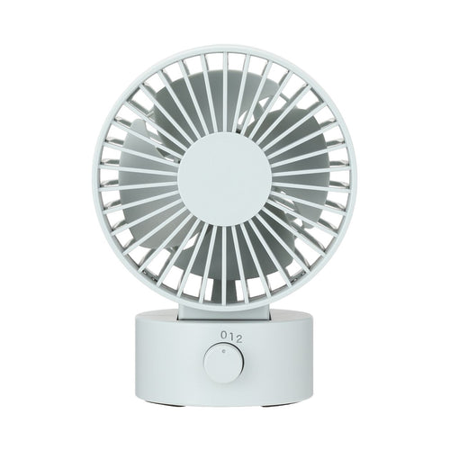 Low Noise Usb Desk Fan / Blue