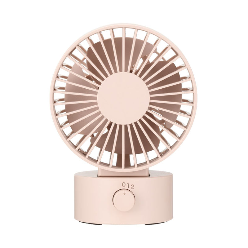 Low Noise Usb Desk Fan / Pink