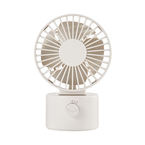 Low Noise Usb Desk Fan / Swing Type / White