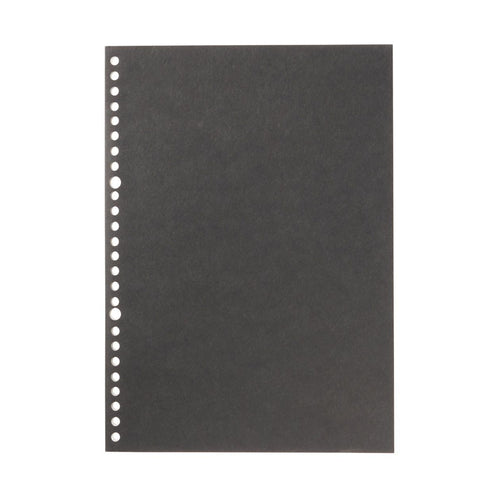 Filler Paper Notebook / Black / B5