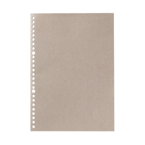 Filler Paper Notebook / Gray / B5