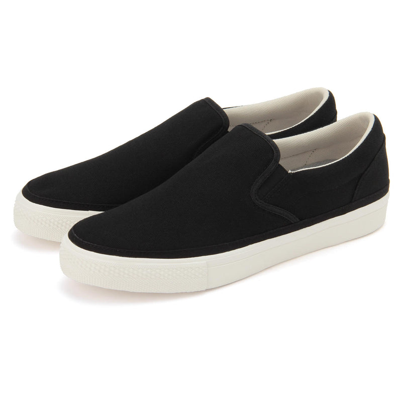Walk-Support Water Repellent Slip-On Sneakers