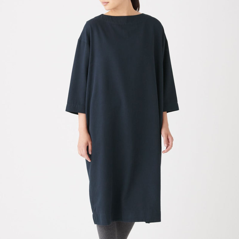 Xinjiang Cotton Dobby Pullover Dress