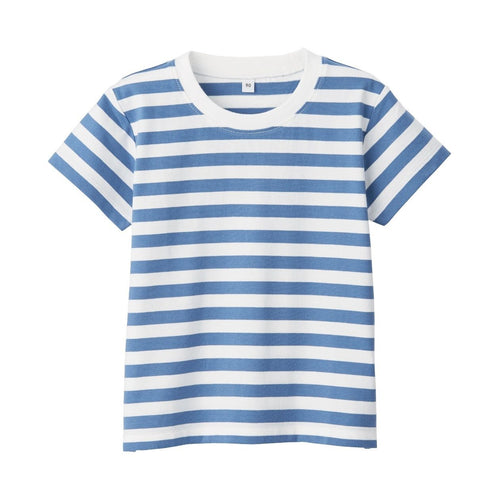Indian Cotton Jersey Border SS T-Shirt Baby