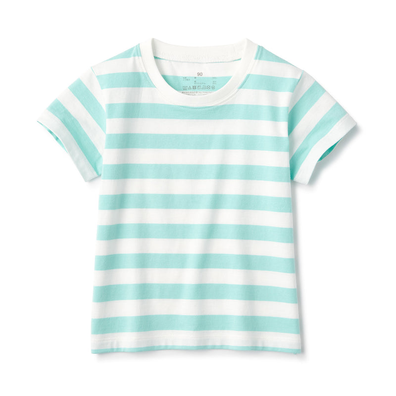 Indian Cotton Border SS Tshirt Baby
