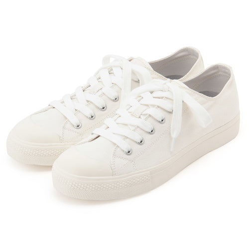 Walk-Support Water Repellent Lace-Up Sneakers