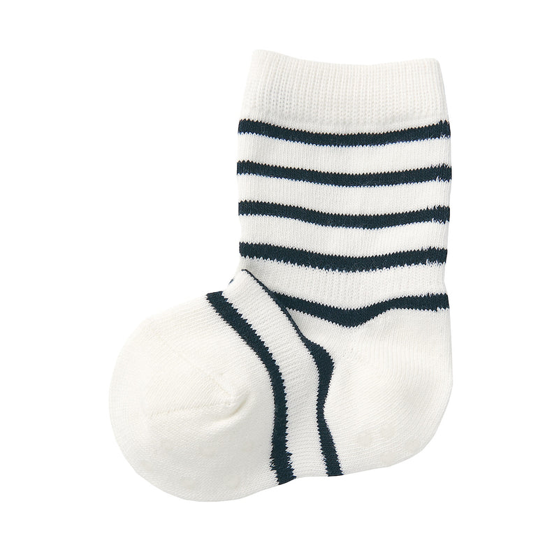 Good Fit Right Angle One Size Fits All Socks (Baby/Border)