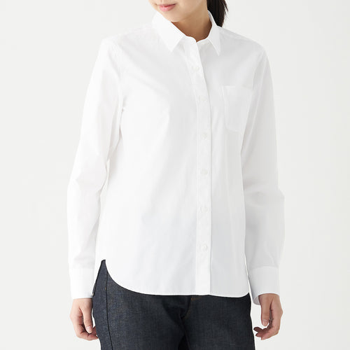 Extra Long Cotton Washed Broad Shirt