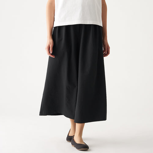 Stretch Brushed Wide Pants