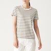 Indian Cotton Jersey Stitch Crew Neck S/S T-Shirt (Border)