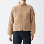 Stretch Boa Fleece Blouson