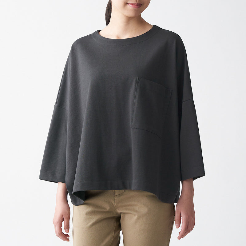 Tightly Knitted Jersey Pullover