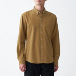 Xinjiang Cotton Flannel Button Down Shirt