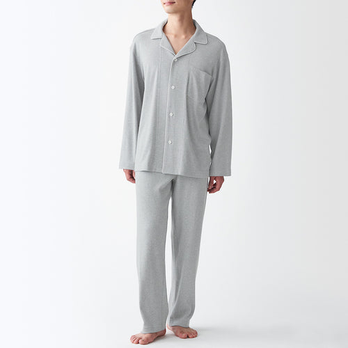 Side Seamless  Cut And Sewn Pajamas