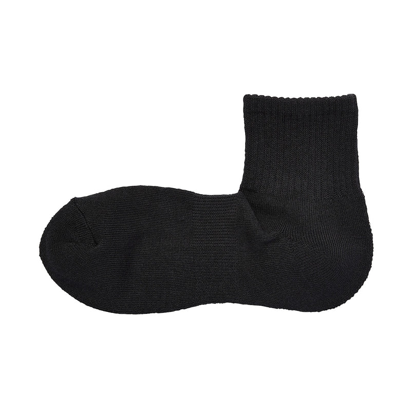 Right Angle Pile Short Socks