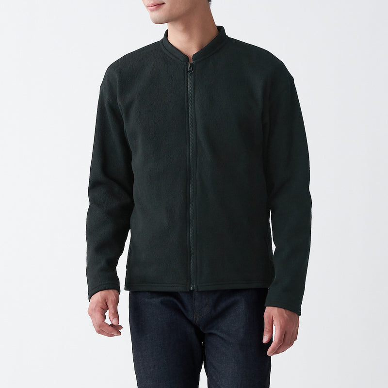 Knit Fleece Zip Jacket