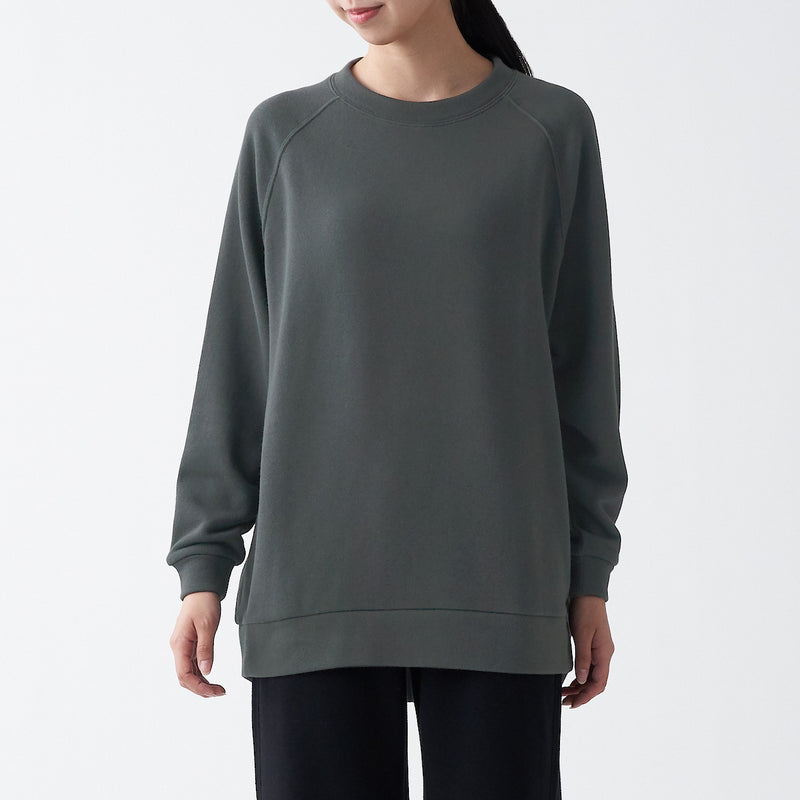 Stretch French Terry Oversized Pullover
