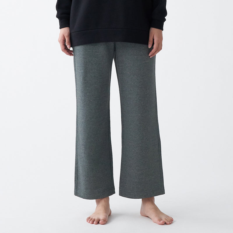 Stretch French Terry Wide Pants