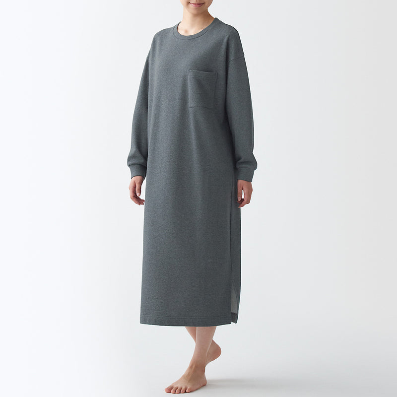 Indian Cotton French Terry Dress