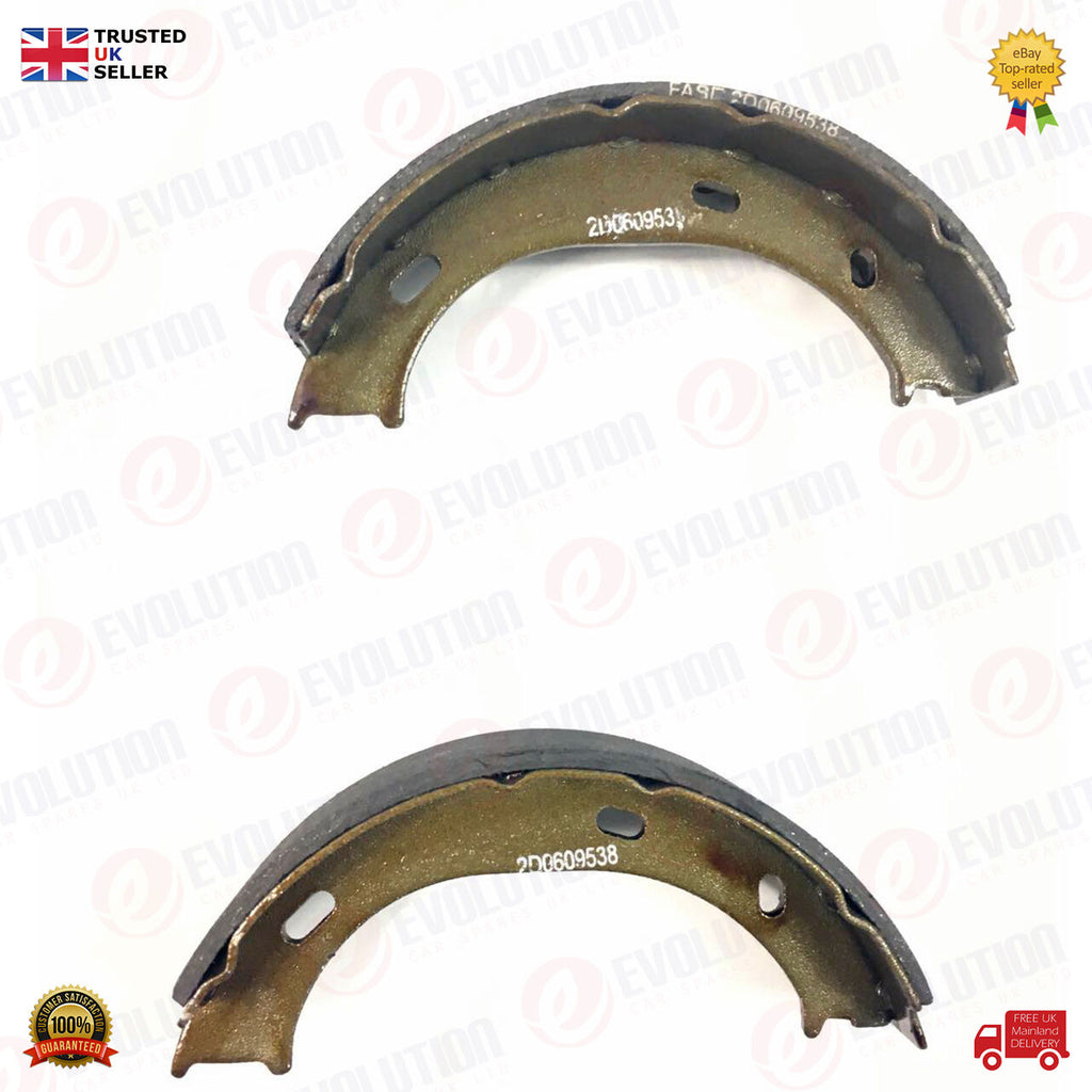 REAR BRAKE SHOE SET (2 PIECES) FOR MERCEDES-BENZ G-CLASS SPRINTER PUCH VW LT