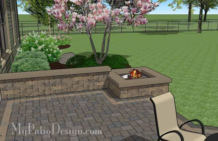 Paver Patio #S-031001-02