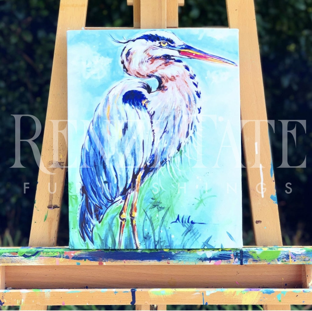 Blue Heron Prints