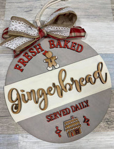 Fresh Baked Gingerbread