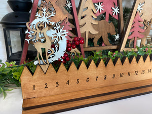 Holiday Dancing Reindeer Countdown/Advent Calendar
