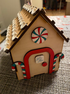 Holiday DIY Gingerbread House