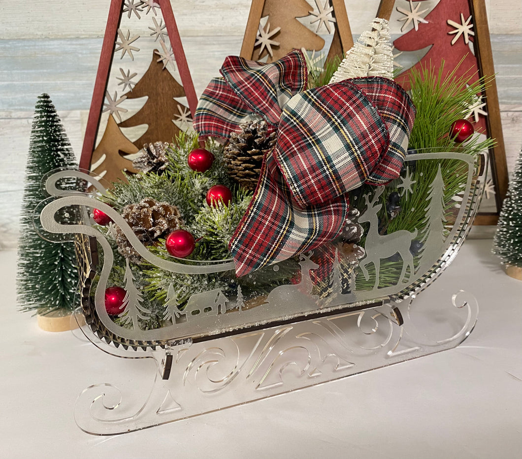 Woodsie Winter Sleigh